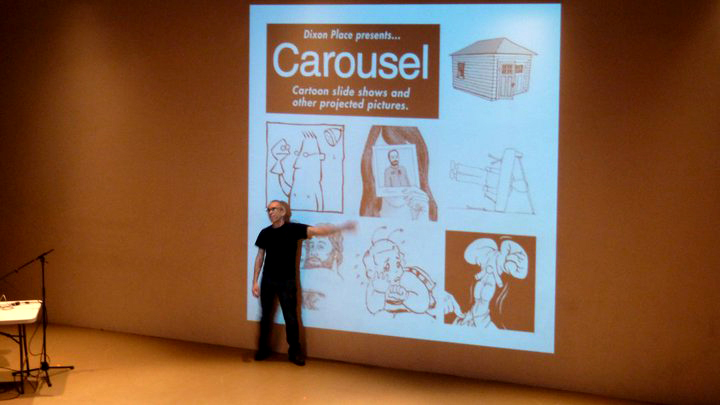 Carousel_DixonPlace_Sikoryak_photo:JohnBeaman