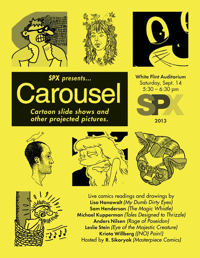 carousel SPX 2013 promo