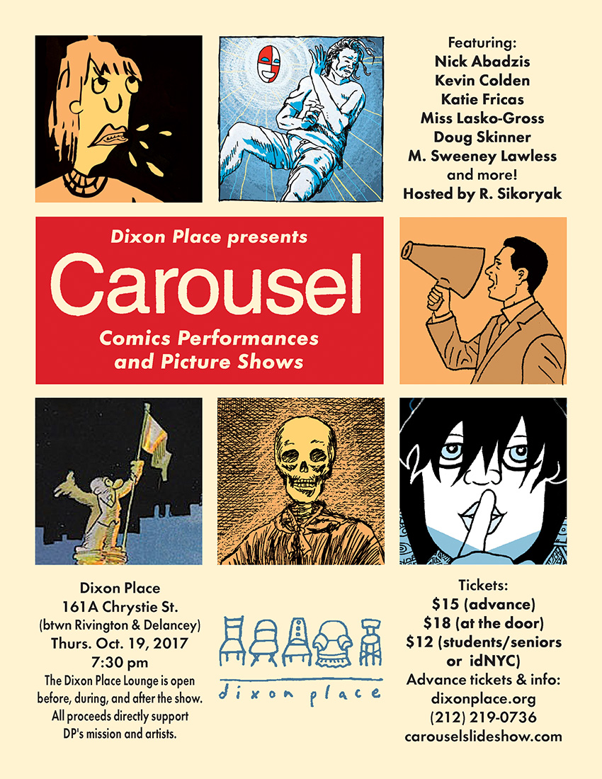 carousel comics performances and picture shows