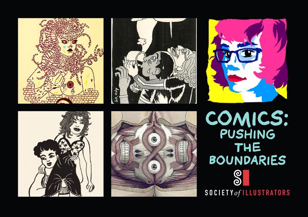 comics-pushing the boundaries promo